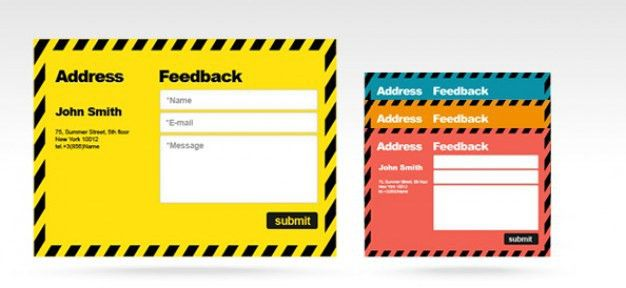 Free psd feedback form PSD file | Free Download