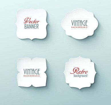 Vector white paper bags free vector download (11,636 Free vector ...