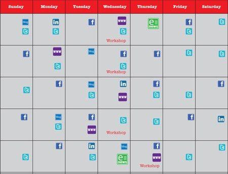 Social Media Calendar and Daily Task List | CoffeeBot Solutions