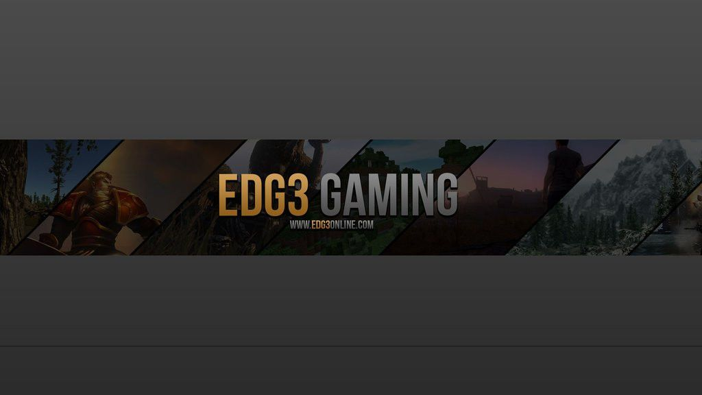 Youtube Banner - EDG3 GAMING by BugEdits on DeviantArt