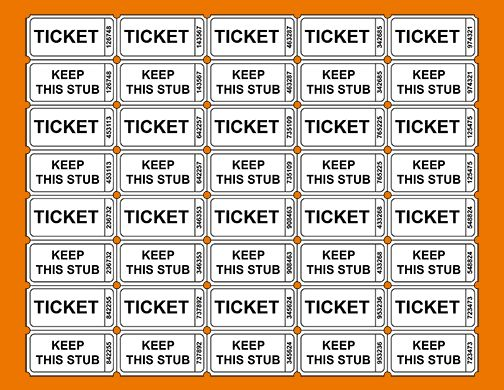 3+ printable raffle ticket template | teknoswitch