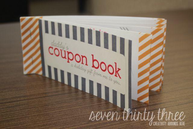 11 Free, Printable Father's Day Coupon Books