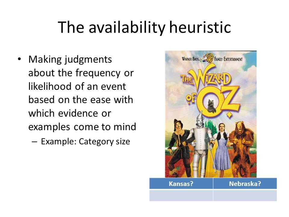 Heuristics & Biases MAR 3053 February 28, ppt download