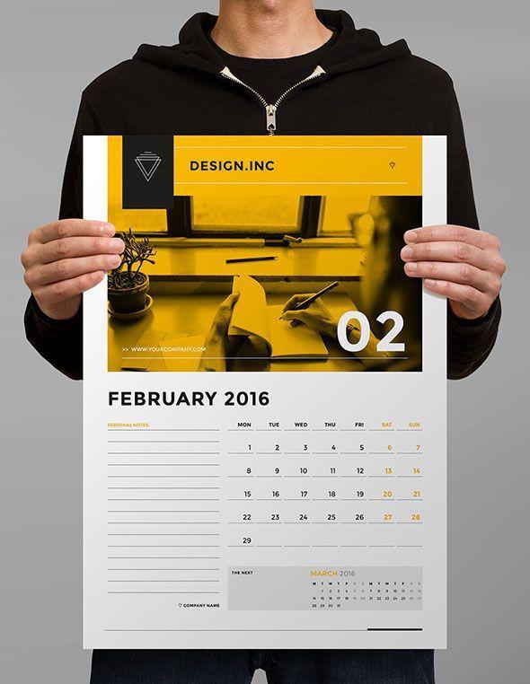 Best 25+ Calendar design ideas on Pinterest | Graphic design ...