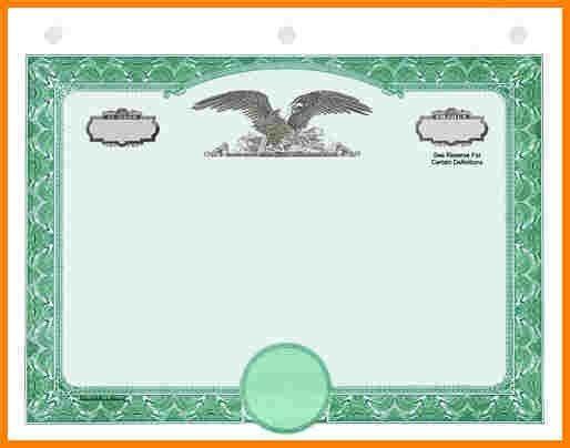 8+ stock certificate border | sample of invoice