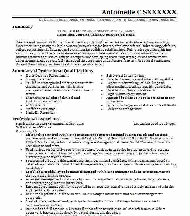 Bilingual Recruiter Resume. bilingual recruiter resume bilingual ...