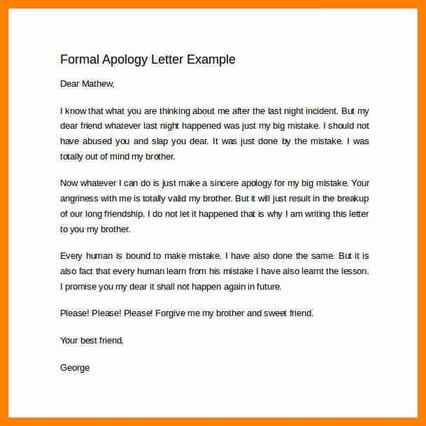 4+ formal apology letter format | cover title page