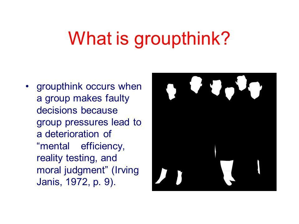 Groupthink Clip art. - ppt video online download