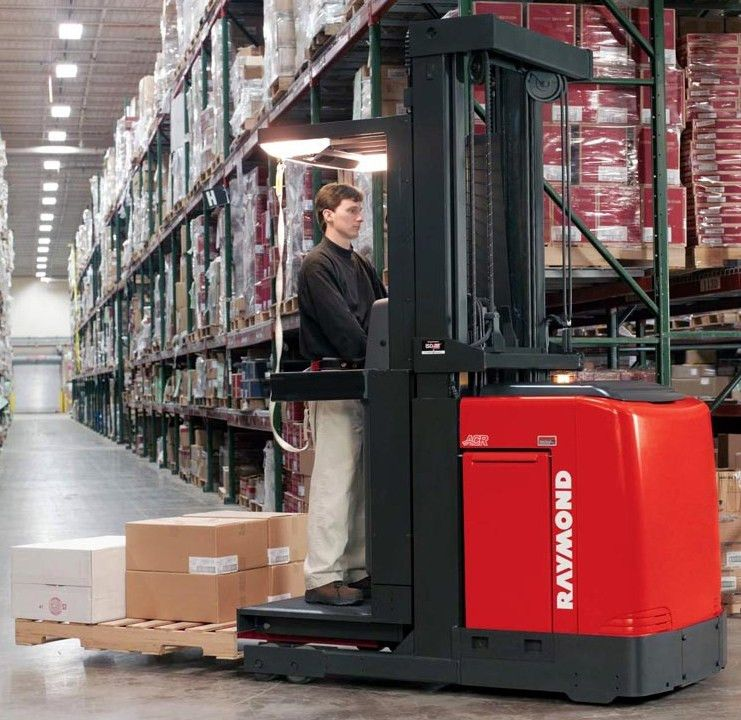 RAYMND ORDER PICKER - North Star Forklift
