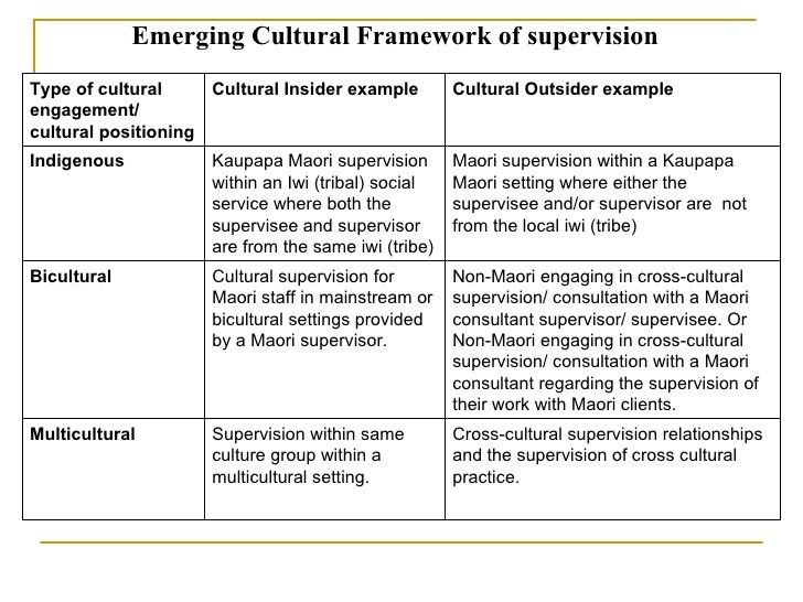 Social work supervision in aotearoa new zealand