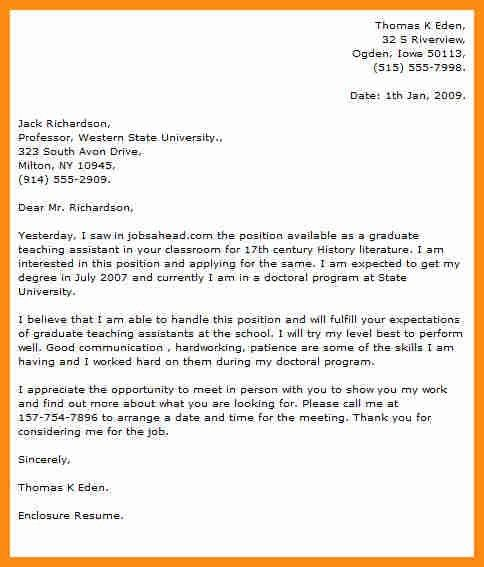 Cheap university application letter