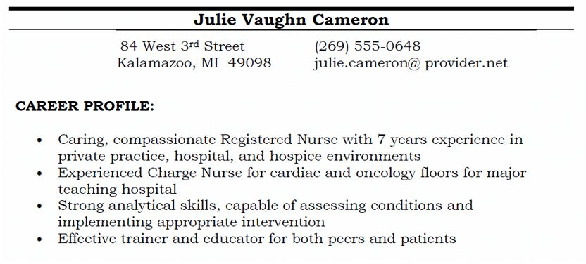 Glamorous Resume Profiles 89 For Your Education Resume With Resume ...