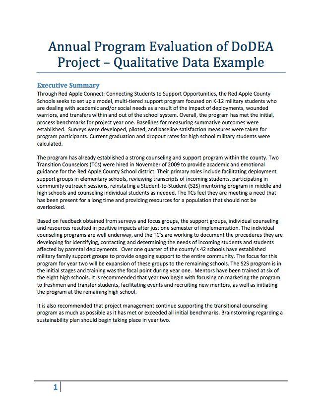 Evaluation Resources