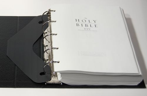 Hendrickson Looseleaf ESV with Binder — Bible Design Blog