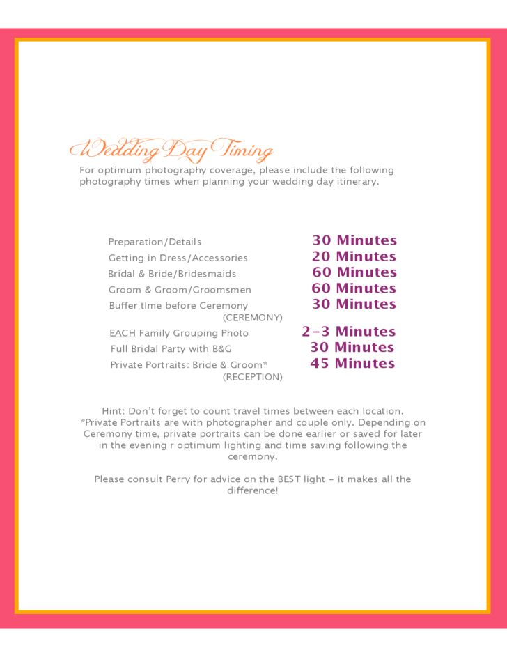 Wedding Photography Contract Template Free Download