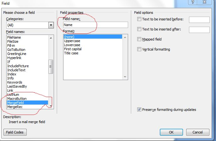 Create a Word Document From a Template using c# (Mail Merge) « A ...