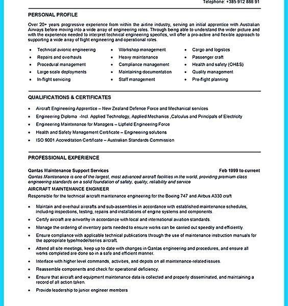 Aircraft Mechanic Resume. download resume structure. aviation ...