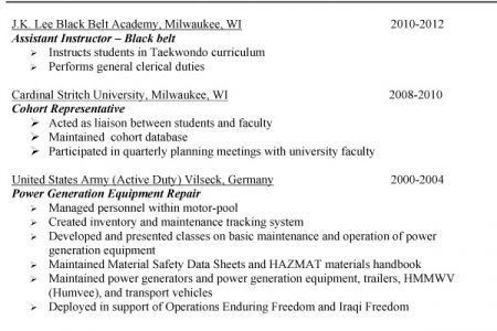 Military Civilian Resume Example, Military to Civilian Conversion ...