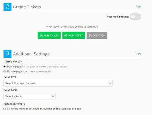 How to Sell Tickets for an Event Organized through Eventbrite ...