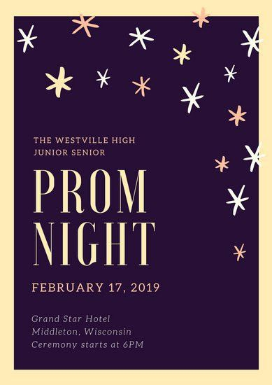 Prom Poster Templates - Canva