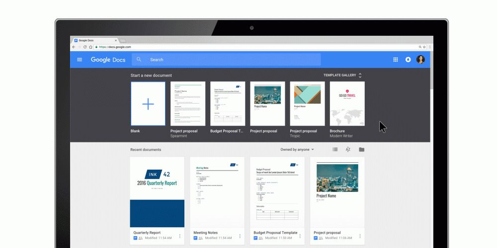 Google Docs, Sheets, Slides and Forms now let you create custom ...