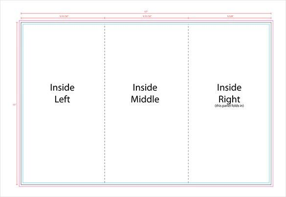 trifold templates free - thebridgesummit.co