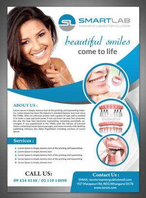 19 Serious Modern Dental Flyer Designs for a Dental business in ...