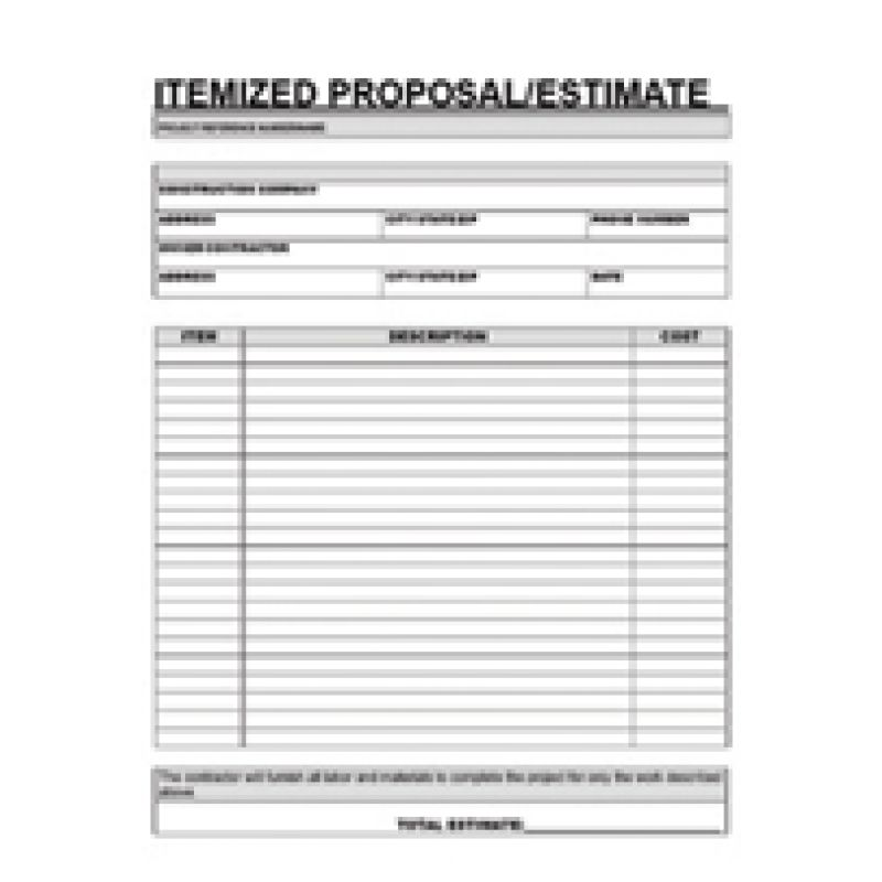 8 Best Images of Hvac Job Proposal Template - Sample HVAC Proposal ...
