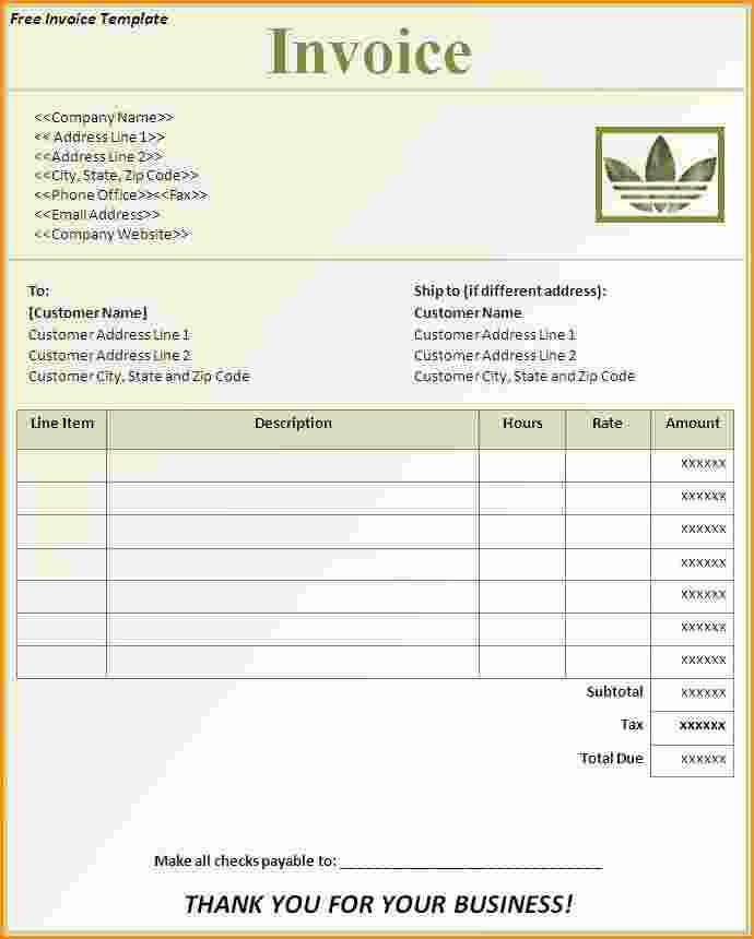 11+ free invoice software | Invoice Template Download