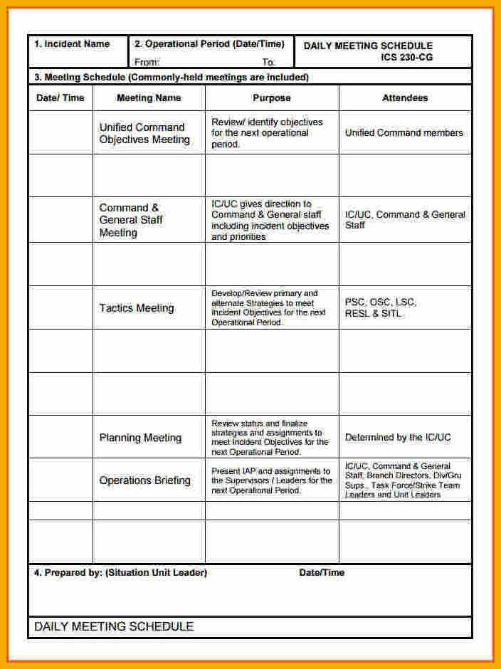 13+ daily meeting template | bursary cover letter