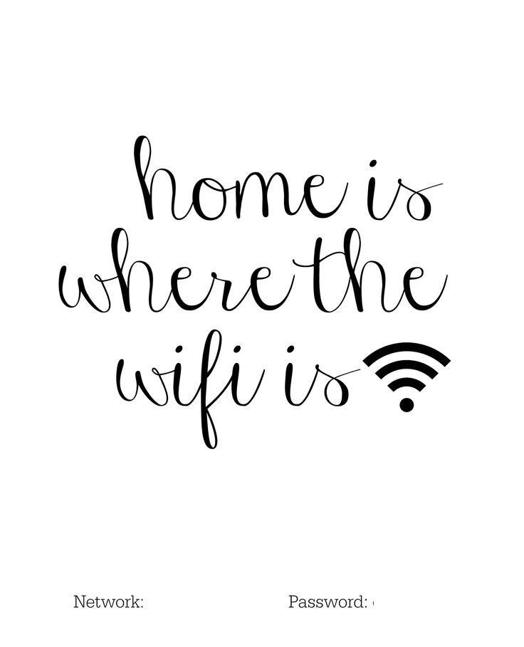 Best 25+ Wifi password printable ideas on Pinterest | Show wifi ...
