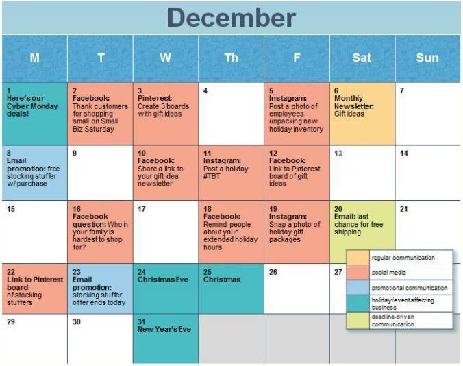 Planning For 2017? Create A Social Media Calendar - Sierra Vista ...