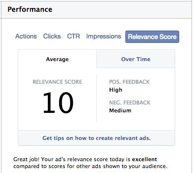 Facebook Ads Relevance Score, Positive and Negative Feedback - Jon ...