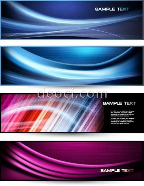 The dynamic ripple banner vector template design template ...