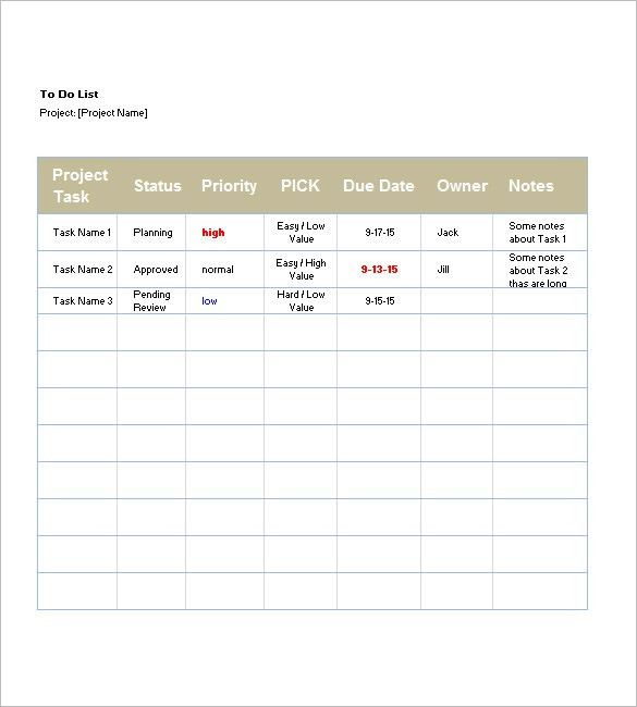 List Templates – 105+ Free Word, Excel, PDF, PSD, Indesign Format ...