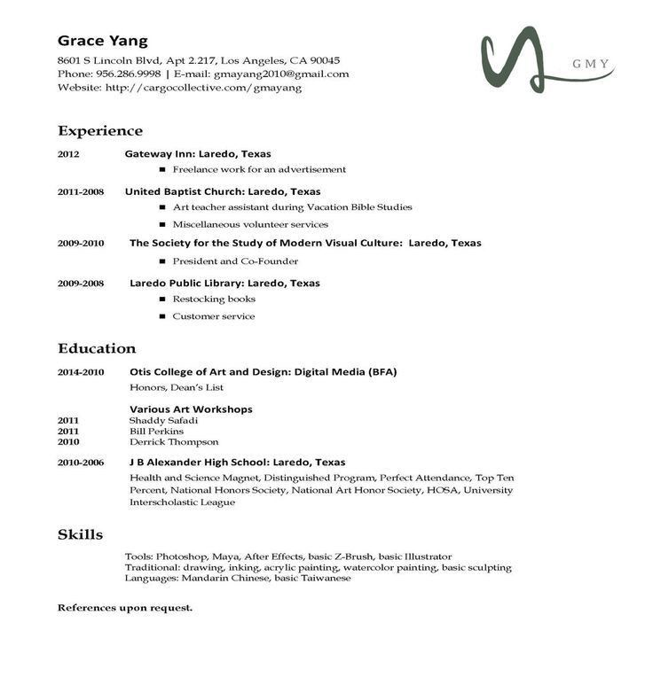 types of resumes formats targeted resume format engineers. 6 ...