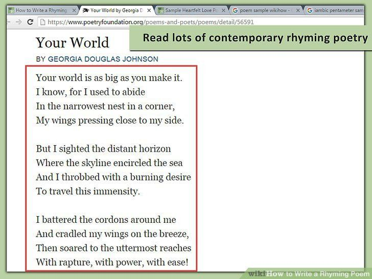 How to Write a Rhyming Poem: 12 Steps (with Pictures) - wikiHow