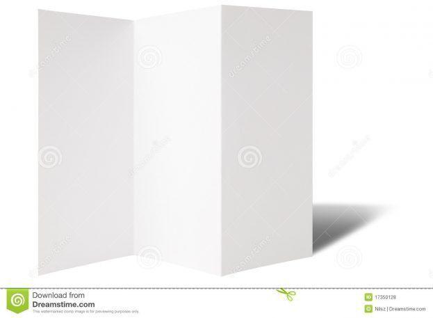 Blank Flyer Templates Microsoft Word Blank brochure template : Selimtd