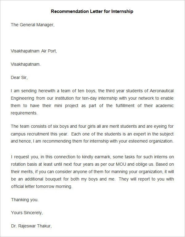26+ Employee Recommendation Letter Templates | HR Templates | Free ...
