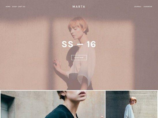 Marta Squarespace Template Analysis - Using My Head