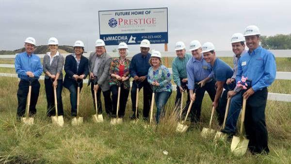 Prestige Community Credit Union Breaks Ground on McKinney Branch ...