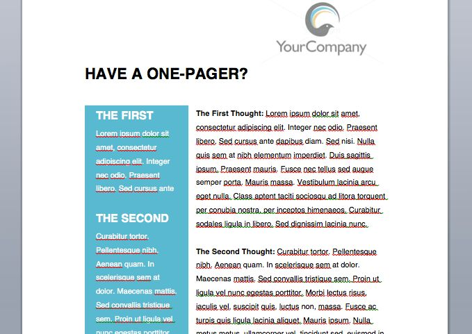 Simple Whitepaper Template [FREE Download]