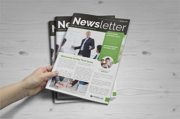 9+ Printable Newsletter Templates - Free Sample, Example, Format ...