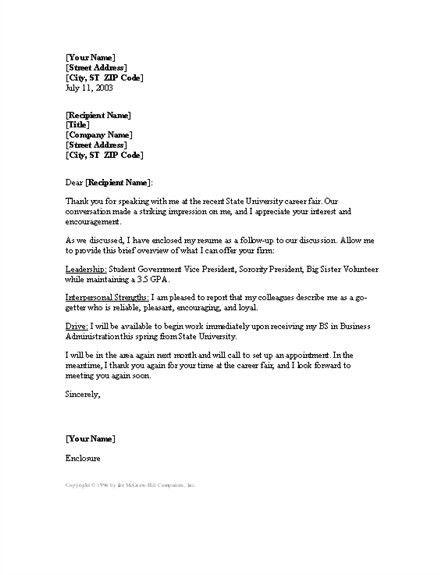 How To Set Up A Cover Letter [Nfgaccountability.com ]