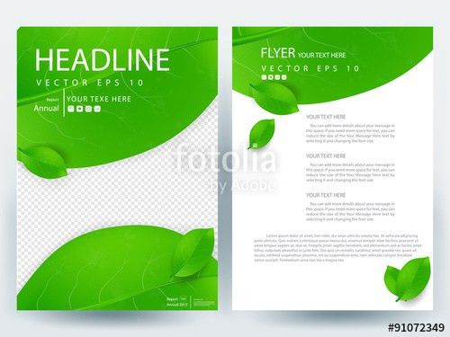 Abstract vector modern/ flyer design / brochure design template ...