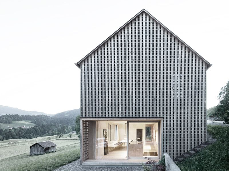Gallery of Haus Für Julia Und Björn   Innauer-Matt Architekten - 13 - exemple de facade de maison