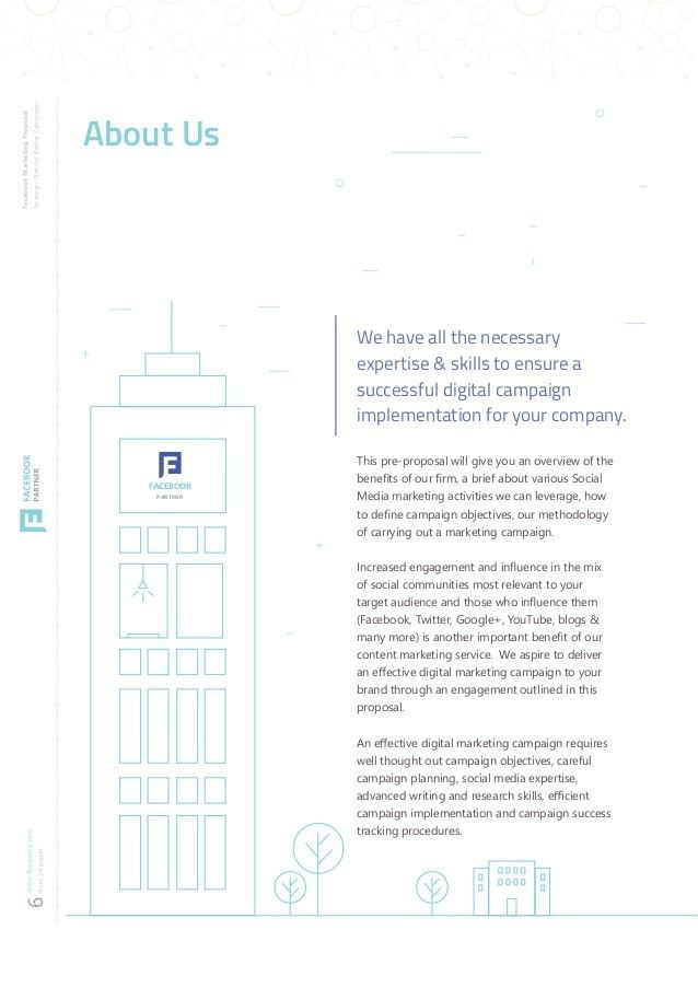 Facebook Marketing Proposal Template Preview