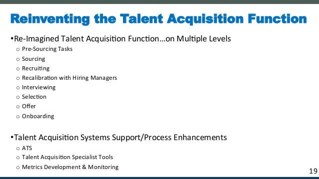Building Talent Acquisition from the Ground Up