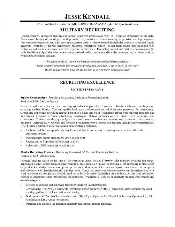 Recruiter Job Description Sample 2016 : XpertResumes.com