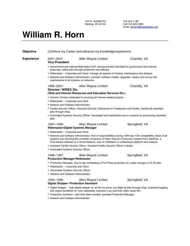 Nice Design Resume Setup 1 17 Best Ideas About Sample Resume ...